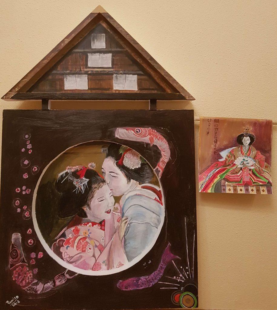 casa de muñecas, haiku,basho,isabel panizo del valle,artepanizo