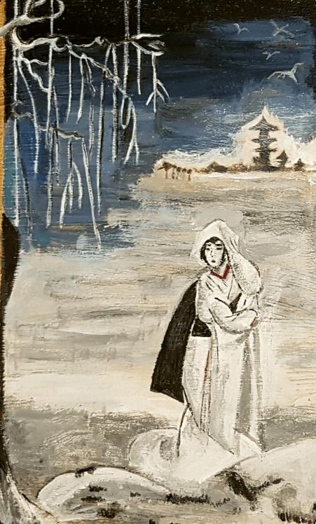 sagi musume,teatro kabuki,isabel panizo del valle,artepanizo