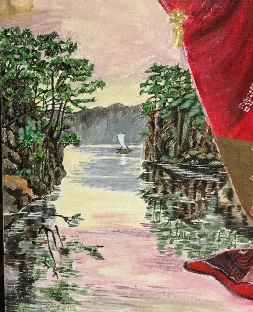 Lago con árboles - el mundo artepanizo.es